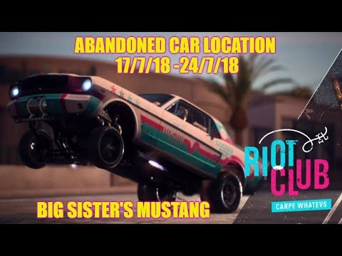 Need For Speed Payback Abandoned Car Location (5) Guide Playthrough - Big Sis Mustang