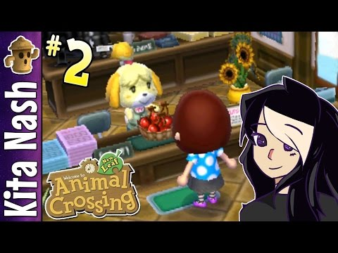 Animal Crossing New Leaf Gameplay PART 2: ISABELLE'S GIFT |Let's Play Walkthrough