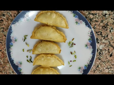 Holi special Gujia|Gujiya Recipe | Mawa Gujiya Recipe | How to make Gujiya by GTK