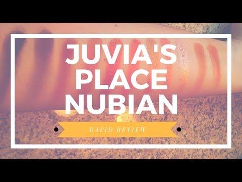 Juvia's Place Nubain Palete Review