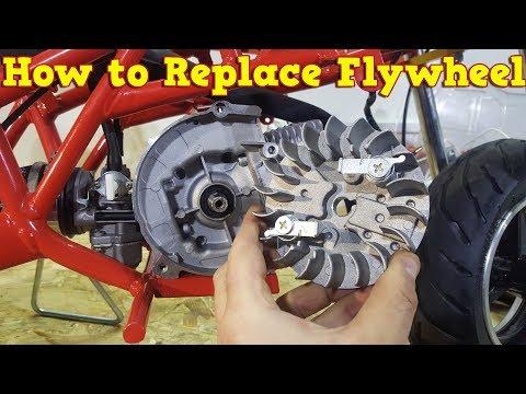 How to Replace Flywheel in 2 Stroke Pocket Bike Engine