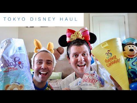 Tokyo Disneyland Haul - June 2018 (DisneySea and Disney Store HUGE shopping haul)
