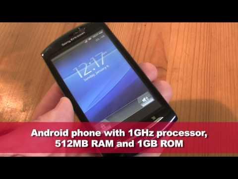 Sony Ericsson Xperia Neo overview
