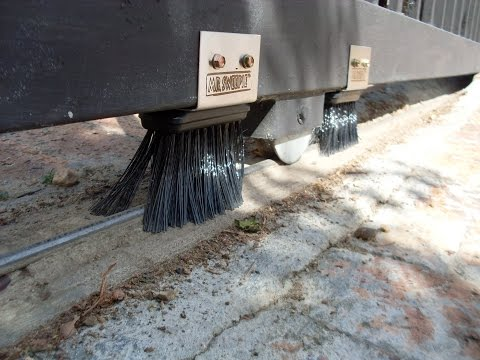 Mr  Sweepie ® Sliding Gate Track Sweeper