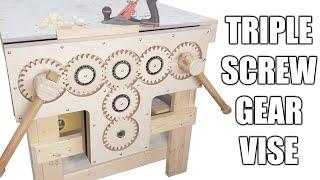 Triple Screw Gear Vise