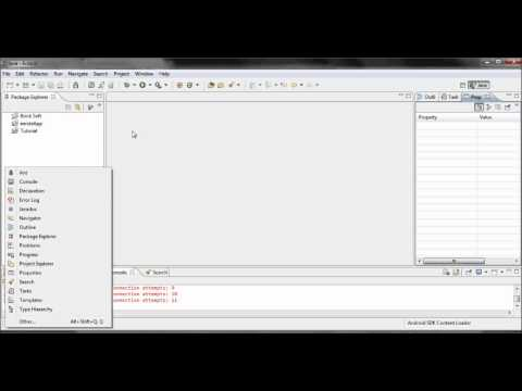 Android Application Development - les 2 - Tips voor Eclipse