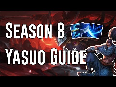 Season 8 Yasuo Guide - Best Rune Page - Best Build