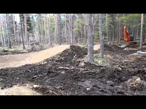 Construction Day#11   Orange berm and jumps
