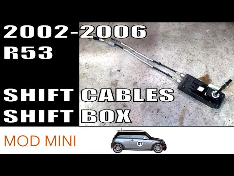How To Replace Shift Cables MINI Cooper S 2002-2006