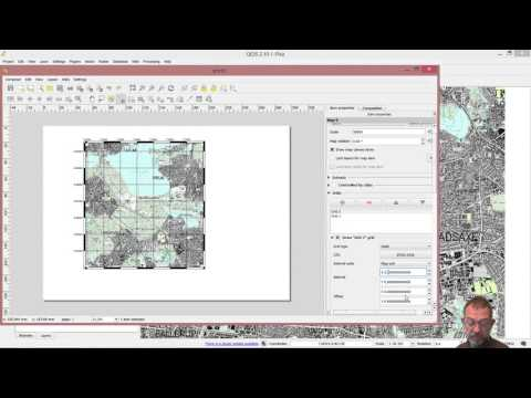 how to add coordinate grids to maps i QGIS