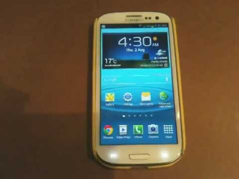 Samsung Galaxy S3 SIII - How To Avoid Battery Drain  Tutorial - Have your battery last longer