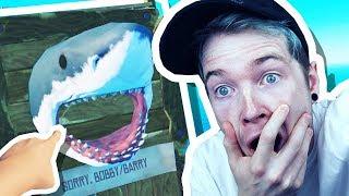 KILLING BOBBY THE SHARK!!! (Raft #2)
