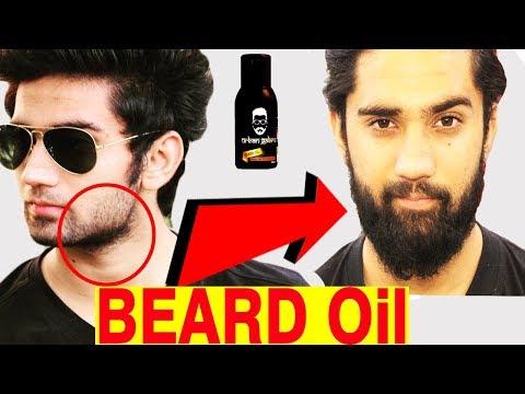 How to use beard oil to grow beard   Best beard oil in India