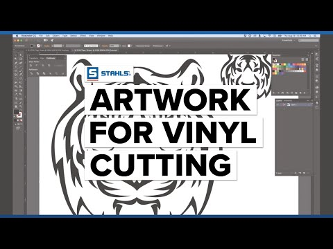 How to Create Artwork for Vinyl Cutting -  Adobe Illustrator Edition