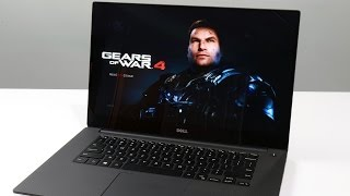 Dell XPS 15 With Kaby Lake And GTX 1050 - Can It GAME?