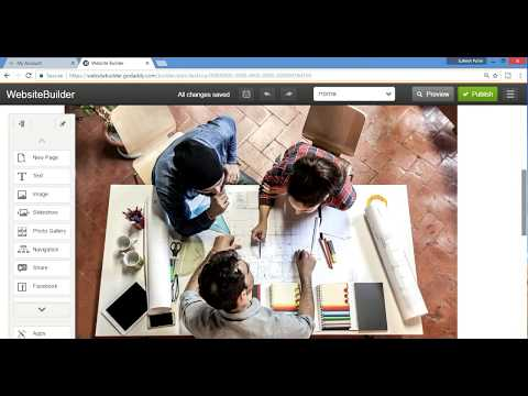 How to Make a Website GoDaddy professional Website Builder hosting Overview