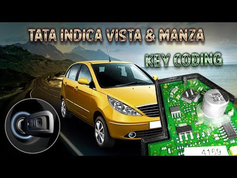 TATA Indica Vista, Safari Storme & Manza Lost Key Making | TM100 | 24C04 EEPROM