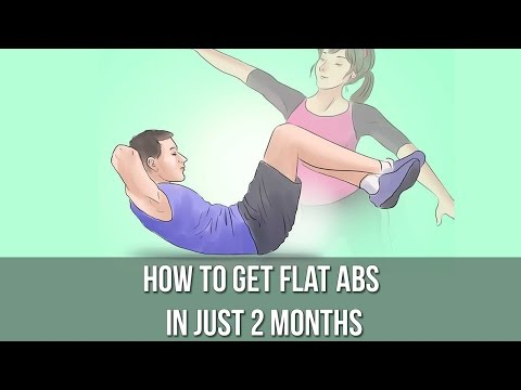 How to Get Flat Abs in Just 2 Months