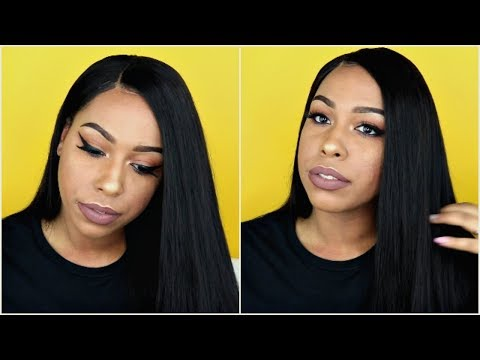 180% Density Indian Remy Hair 360 Lace Wig   Natural Straight [360NS02]   WoWEbony