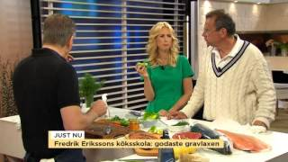 Fredrik Erikssons köksskola: Godaste gravlaxen - Nyhetsmorgon (TV4)