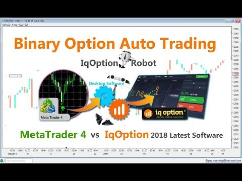 iqoption Binary Auto Trading Robot first test | mt4 and desktop software NO SCAM 100% True