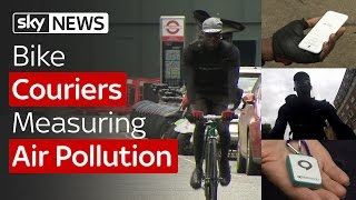 Swipe | Couriers Measuring Pollution & A Mood-Changing Wristband