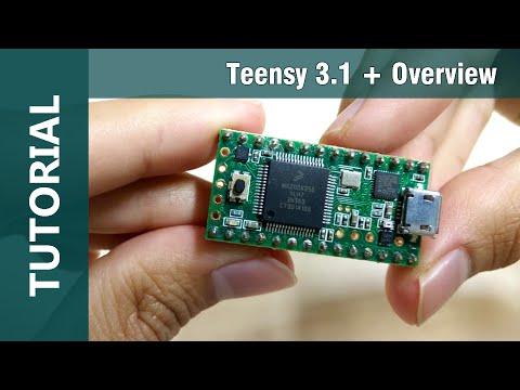 Teensy 3.1 | 32 Bit Arduino IDE Compatible Microcontroller Overview