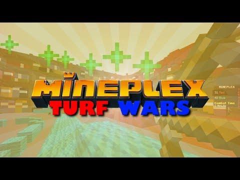 New Maps! Mineplex Turf Wars, Mineplex Monday, Minecraft Minigames SallyGreenGamer, Family Friendly