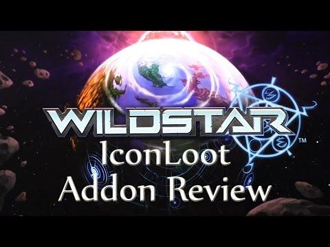 IconLoot - Wildstar Addon Video