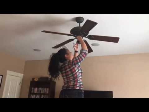 Lunch Time Adventures - Ceiling Fan Pull Switch Replacement