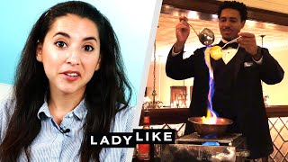We Went To A Haunted Restaurant • Ladylike