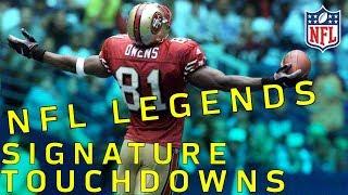 NFL Legends Signature TDs Part 1 | NFL Highlights