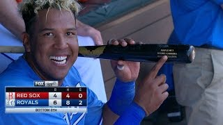 6/21/17: Salvy leads Royals with go-ahead grand slam