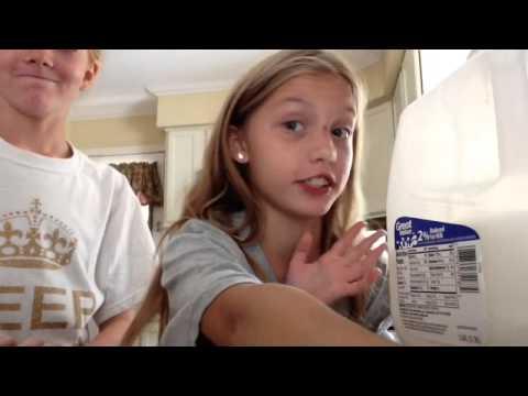 Diy Orange creme milkshake