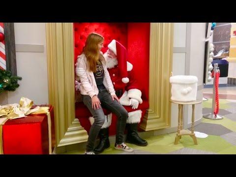 meeting Santa Vlog #19