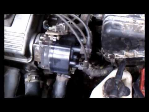 Change the distributor cap on a 96 Toyota Corolla