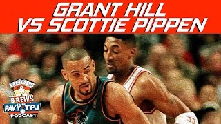 Grant Hill vs Scottie Pippen Who