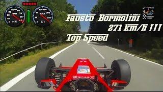 Fausto Bormolini 271 km/h Record Speed @Reynard K02 Mugen F3000 [Pure Engine Sound]