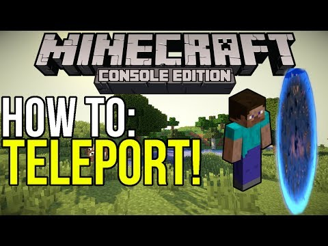 Minecraft Xbox & PS3: How to Teleport in TU14! | [Tutorial]