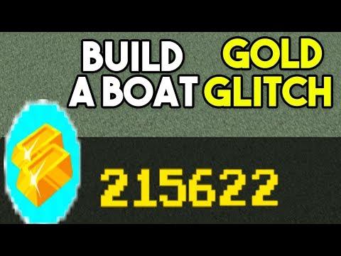 UNLIMITED GOLD *GLITCH*   Build A Boat For Treasure ROBLOX