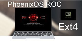 Instal Phoenix OS Official on Partition EXT4 with rufus