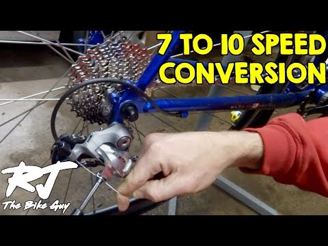 7 Speed To 10 Speed Drive Train Upgrade - DIY Cyclocross/Gravel Bike Project