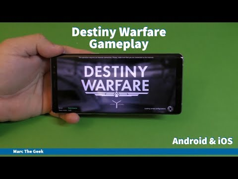 Destiny Warfare Gameplay Review