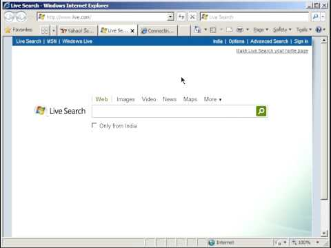 User-interface and new-tab-creation behavior of Internet Explorer 8 is slow