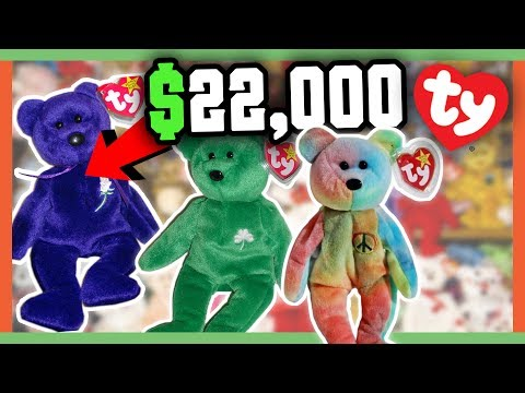 RARE BEANIE BABIES WORTH MONEY - 90's CHILDHOOD TOYS WORTH A FORTUNE!!