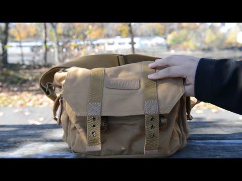 DSLR/Mirrorless Shoulder Camera Bag Review (Esddi)