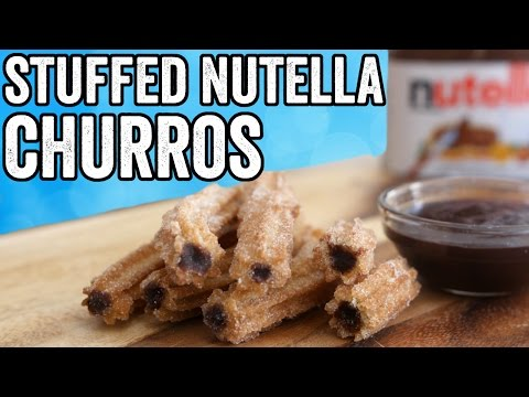 STUFFED NUTELLA CHURROS
