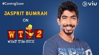 Jasprit Bumrah on What The Duck Season 2   Trailer   Vikram Sathaye   WTD 2   Viu India