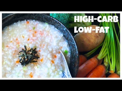 One-Pot Veggie Rice Porridge *low-sodium VEGAN RECIPE