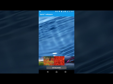 How to change Walpaper in Android system